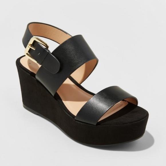 2a66369f3 a new day Shoes | Nwt Zenia Slide Sandals Platform Wedge | Poshmark